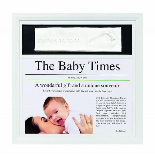 Marco News Print Frame de Baby Art