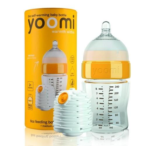 Biberón Yoomi + calentador 240ml.