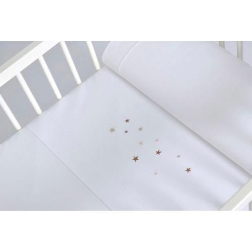 Conjunto sábanas capazo / minicuna Estrellas - Sonpetit