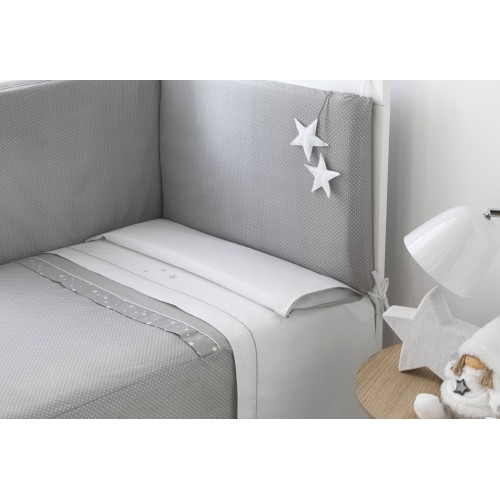 Edredon + Protector Belino Stars 60 x 120 Funny Baby