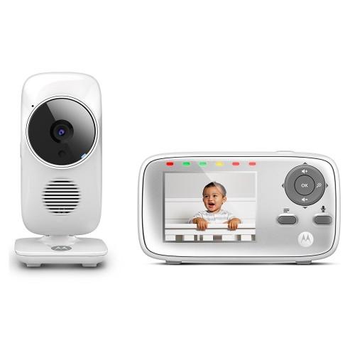 Cámara vigilabebés con monitor Motorola MBP483-G