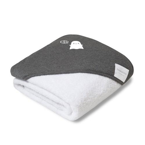 Capa de baño algodón Ppima Boo Purple de Bonjourbebe