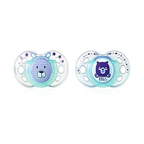 2 Chupetes oso azul turquesa de Tommee Tippee